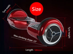 Portable Smart 2 Wheels Self-Balancing Drifting Sports Scooter pictures & photos