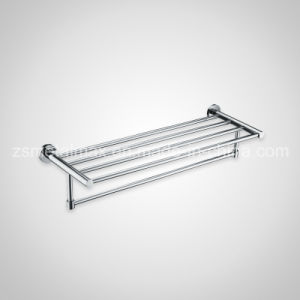 Stainless Steel Bathroom Wall Mounted Bar Towel Shelf (GJ006) pictures & photos