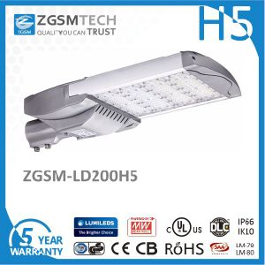 200W LED Street Light Timer Dimming with Programmable Driver pictures & photos
