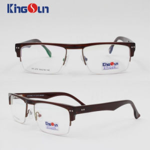 Acetate Mix Metal Frame with Spring Temple Optical pictures & photos