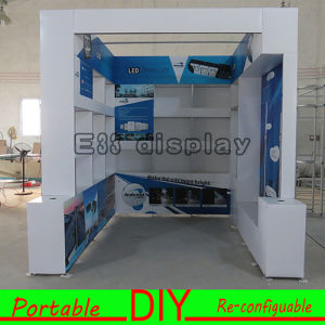 Free Designed Customized Versatile Modular Reusable Systems Portable PVC Booth Stand pictures & photos