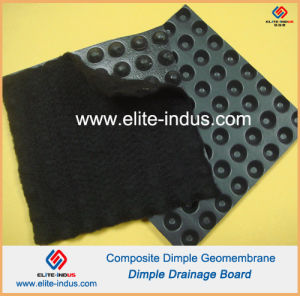 HDPE Dimple Geomembrane Composite Geotextile pictures & photos