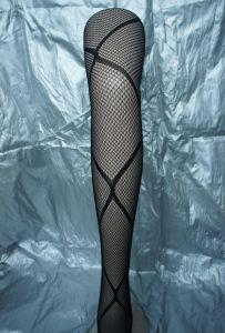 Sexy Legging Mesh Pantyhose in Black 1974 pictures & photos