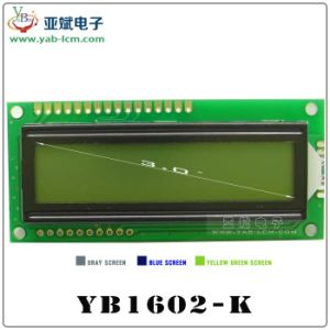 Yb1602k Character Lattice Screen, Character DOT Matrix LCD Screens
