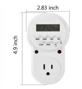 Digital Programmable Timer Socket Plug Wall Home Plug-in Switch Energy-Saving for Home Lights, and All Househol (ETU-63) pictures & photos