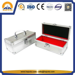 Aluminum Storage Case Art Tool Case with Red Velvet Lining (HT-3012) pictures & photos
