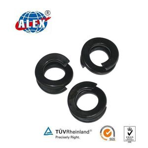 Fe6 Double Coil Spring Washer for Railway pictures & photos