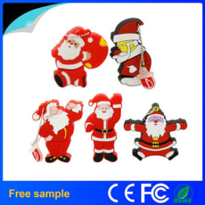 Best Christmas Gift Santa Claus USB Flash Drive pictures & photos