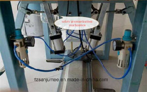 High Frequency Double Station Welding Machine for Shoes Upper Embossing pictures & photos