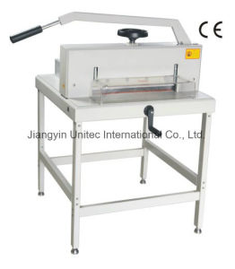 Chinese Factory Sale Paper Cutter Paper Guillotine New Items in China Market 4305 pictures & photos