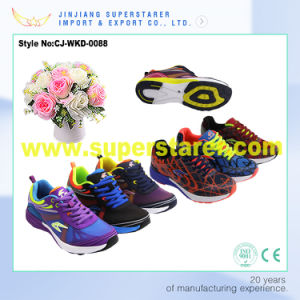 Sports Shoes Running, Lace up EVA Men Shoes pictures & photos