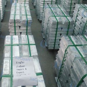 High Grade 99.995% Zinc Ingot for Sale with Factory Price pictures & photos