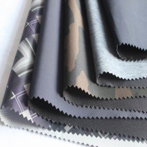300t Printed Polyester Taffeta Composite TPU Printed (SL19019-1) pictures & photos