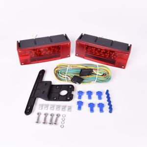 12V LED Submersible Rectangular Trailer Light pictures & photos