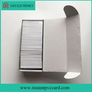 Fast Drying Ink Printing Blank PVC Card pictures & photos