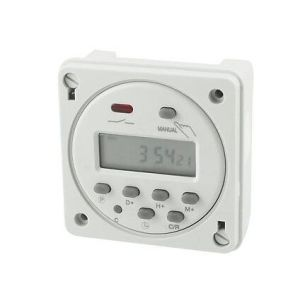 Cn101A Digital LCD Power Weekly Programmable Electronic Timer Switch AC 220V 16A pictures & photos