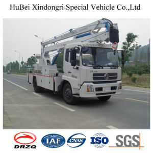 20m Dongfeng Aerial Working Bucket Truck with Hook pictures & photos