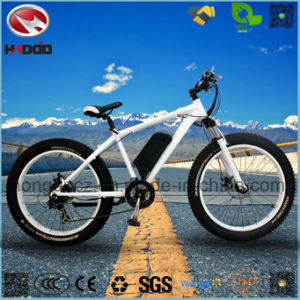 Wholesale Alloy Frame 500W 26 Inch Electric Fat Tire Beach Bicycle pictures & photos