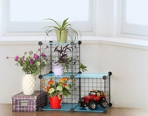 New Metal Metail Versatile DIY Storage Book Metal Shelf pictures & photos