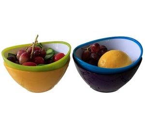 best selling heat-resisting plastic salad bowl pictures & photos