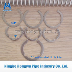 """1/2"""" 3/4"""" 1"""" Stainless Steel Clip for Tube Accessories"""