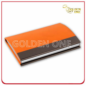 Promotion Gift PU Leather Name Card Holder pictures & photos
