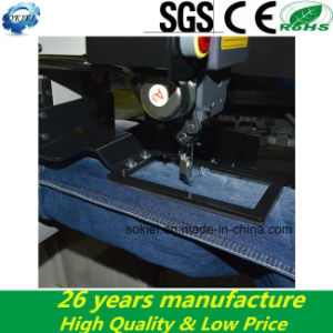 Computerized Jeans Automatic Industrial Sewing Machines for Jeans pictures & photos