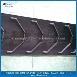 V Type Pattern Rubber Belt Conveyor Belt pictures & photos