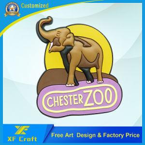 Cheap Customized Rubber Soft Plastic Fridge Magnet for Souvenir (XF-FM04) pictures & photos