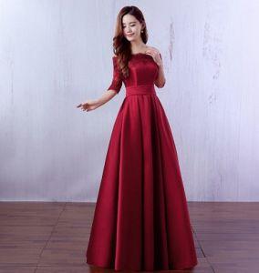 2017 Bride Evening Dressa Word Shoulderbanquet Dress pictures & photos