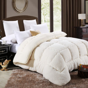 High Quality Warm and Thicking Berber Fleece Quilt for Winter pictures & photos