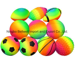 PVC Massage Ball Beach Ball Rainbow Ball pictures & photos