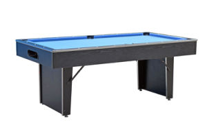 6 FT Folding Leg Pool Table 6101 pictures & photos