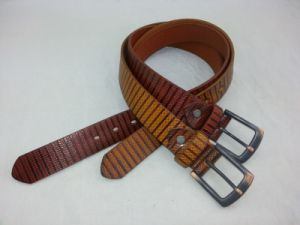 100% Cowhide Genuine Leather Belts Man Classic Pin Buckle Belt (RS-dl5110) pictures & photos