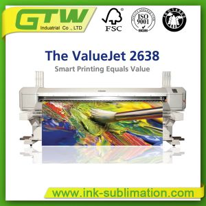 Mutoh Valuejet 2638X Super-Wide Format Dye Sublimation Printer in High Quality pictures & photos