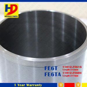 Diesel Engine Fe6 Fe6ta Cylinder Liner for Nissan Engine pictures & photos