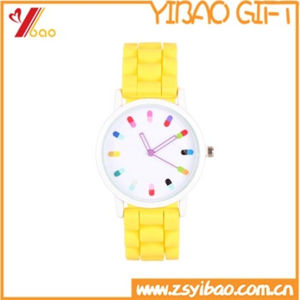 Customed Design Muti-Color Silicone Watch for Child pictures & photos