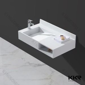 Hot Selling Wall Mounted Bathroom Vanity Wash Basin pictures & photos