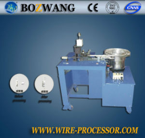 Bozhiwang Semi-Automatic Bracket Triangle Spring Assembling Machine pictures & photos