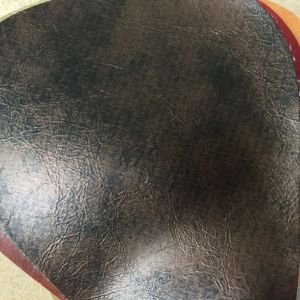 Water Proof Synthetic PU Leather for Outdoor Sofa Making Hx-F1749 pictures & photos
