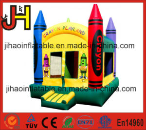 Crayon Jumping Castle Inflatable Bouncer Houses for Party Events pictures & photos