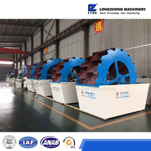 Lzzg Wheel Sand Washing Machine with Best Quality for Sale pictures & photos