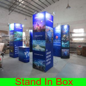 Custom DIY Easy Set-up Portable Modular Exhibition Stand for Trade Show Fair Display Booth pictures & photos