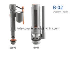 Plastic Toilet Flush Cistern Fittings Flush Valve pictures & photos