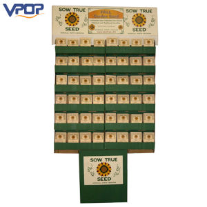 Wholesale Promotional Packet Seed Cardboard Display for Exhibition