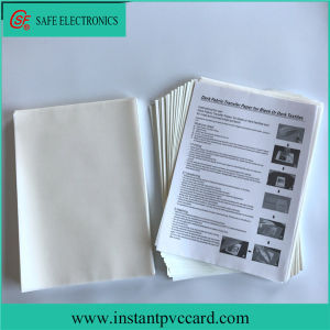 A4 Most Salable Daark Inkjet Transfer Paper pictures & photos