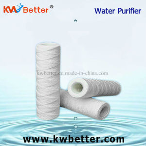 Cotton String Wound Water Purifier Cartridge with Water Softener Filter Cartridge pictures & photos