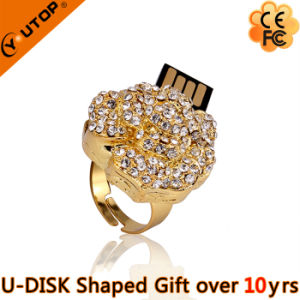 fashion Camellia Jewelry USB Flash Drive for Gifts (YT-6271) pictures & photos