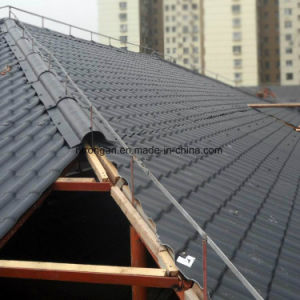 Good Fire-Resistant Rating ASA Coated Synthetic Resin Tiles for House Roof pictures & photos