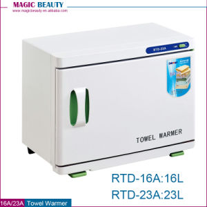 Rtd-16A Wholesale 16L UV Sterilizer Hot Towel Warmer Cabinet for Sale for Beauty Salon Use pictures & photos